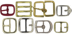 Prong buckle examples