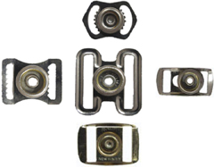 Hat or Cap snap buckle adjusters