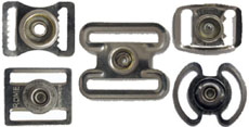Snap buckle examples