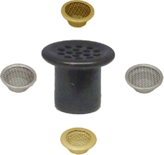 Hat or Cap ventilation grommets
