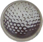 golf ball marker with photo of golf ball